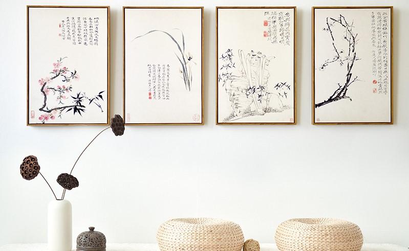 中式水墨挂画